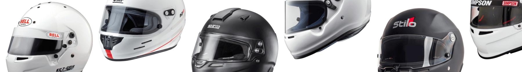 Full Face Karting Helmets