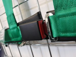 Road legal harness buckle at GSM Performance