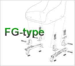 Bride FG-Type Seat Frame Kits