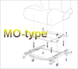 Bride MO-Type Seat Frame Kits