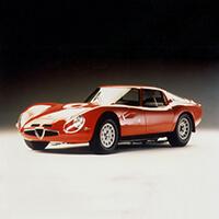 Alfa Romeo TZ Roll Cages