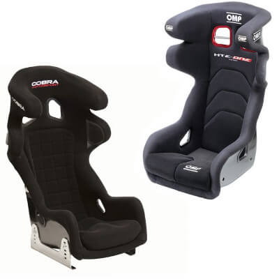 Motorsport seats with 10 year Homologation