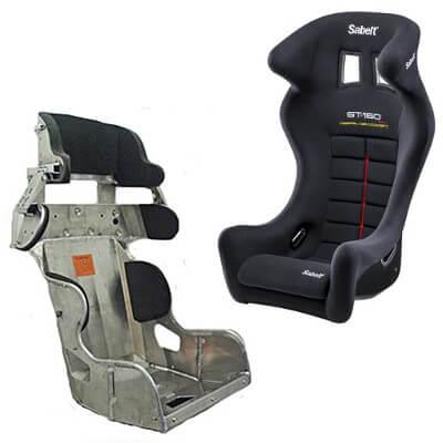 Head Restraint Bucket Seats